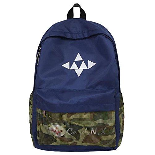 Notebook Ragazzo Blu Misto Acqua Leggera Zaino Da Ad Schoolbags Repellente Pollici 14 Strir Per fqzEw1H1