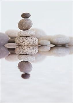 Posterlounge Alu Dibond 30 x 40 cm: Zen Stone de Andrea Haase Foto