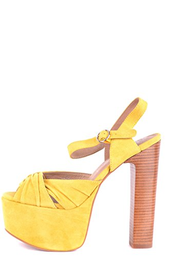 Suede Women's Sandals Jeffrey MCBI163050O Yellow Campbell nO1Y1wx6
