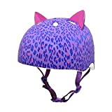 Raskullz Leopard Kitty Helmet 8 Purple Size 54-58cm