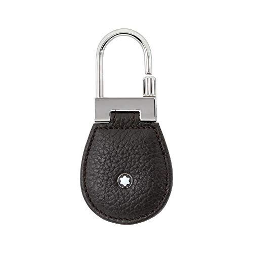 Montblanc Meisterstuck Brown Soft Grain Leather Key Fob Drop 114476