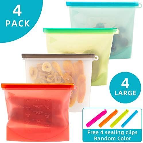 Reusable Silicone Ziplock Freezer Sandwiches product image