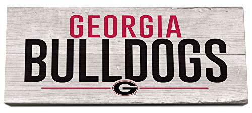 Legacy Athletics Georgia Bulldogs Stack Box Pallet Sign ()