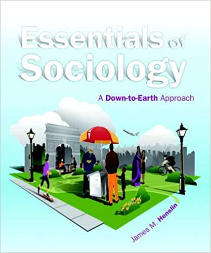 Test bank for social problems a down to earth approach 12th edition b….
