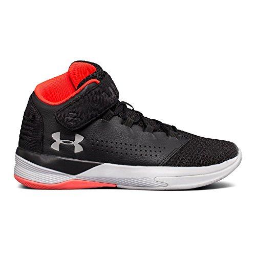 rade School Get B Z Basketball Shoe, Black (001)/Marathon Red, 5 ()