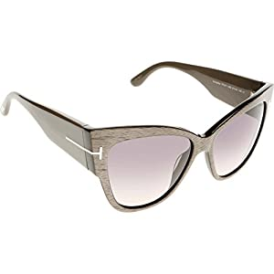 Sunglasses Tom Ford TF 371 FT0371 38B bronze/other / gradient smoke