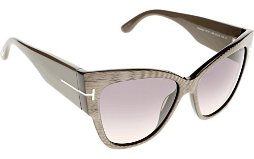 Tom Ford Sunglasses TF 371 Anoushka Sunglasses 38B Multi-color with dirty brown and gold 57mm by Tom Ford