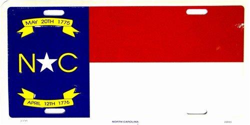 2394 493 North Carolina License Plate LP