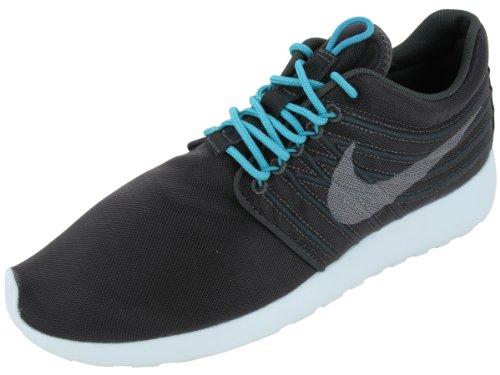 Nike Men s Rosherun DYN FW QS Night Stadium Medium Grey-Sport Turquoise-Black 580579-030 Shoe