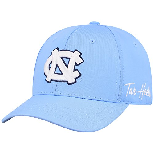 Top of the World North Carolina Tar Heels Men's Fitted Hat Icon, Blue, One Fit