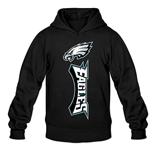 Price comparison product image RABBEAT Men's Sweater Football Eagle Logo Size L Black