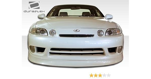 Duraflex Replacement for 1992-1996 Lexus SC Series SC300 SC400 V-Speed  Front Lip Under Spoiler Air Dam - 1 Piece