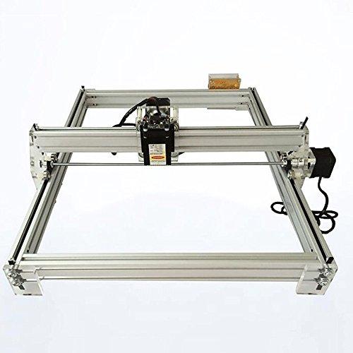 Finlon CNC Laser Engraver Machine Metal Marking Wood Carving Cutter Art Craft DIY Kit 40x50cm, 300mW by Finlon