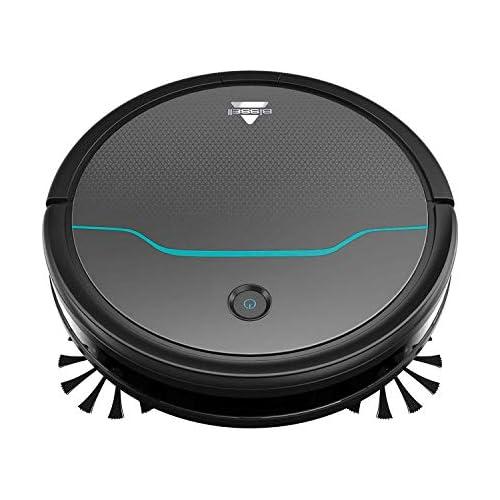 chollos oferta descuentos barato BISSELL EV675 Robot aspirador para suelos duros y alfombras hasta 100 minutos de autonomía ideal para pelos de mascotas vuelve automáticamente a la estación de carga control remoto