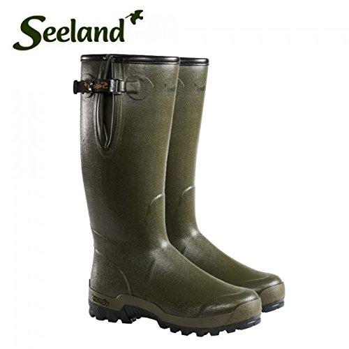 """Seeland Estate Lady Vibram 40,64 cm (16"""") 5 mm, colore: verde scuro-Stivali di gomma, confezione da 8"""