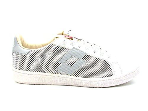 Lotto Sneakers Autographe Net Blanc Gris T4558
