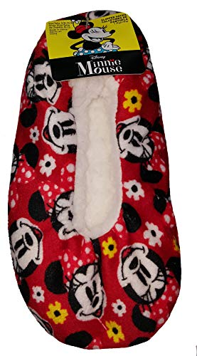 Disney Minnie Mouse Slipper Socks - S/M ()