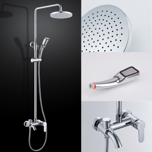 KES X664D Bathroom European Shower System Rainfall Shower Head ...