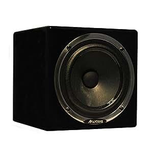 Avantone Active MixCube Powered Full-Range Mini Reference Monitor in Black - Single