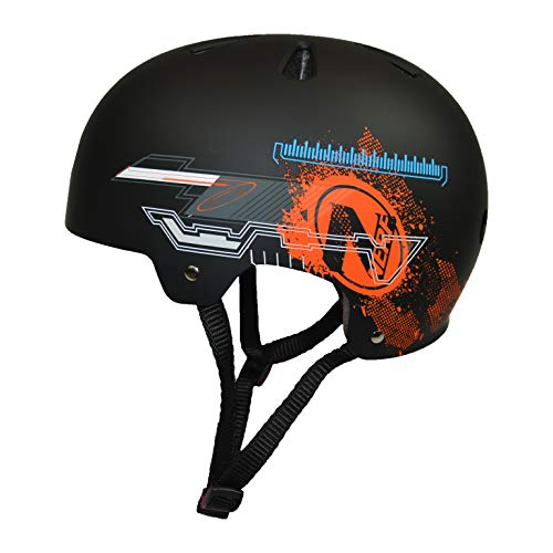 Flybar Nerf -Multi Sport Helmet, CPSC Safety Standards - Black (Large) ...