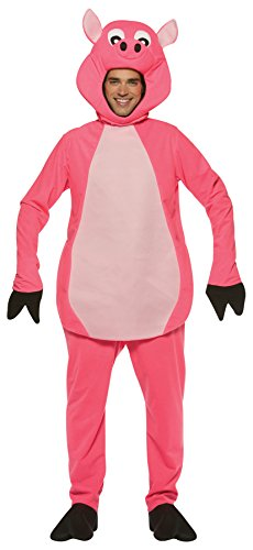 UHC Men's Pig Outfit Funny Comical Theme Party Adult Halloween Costume, OS ()