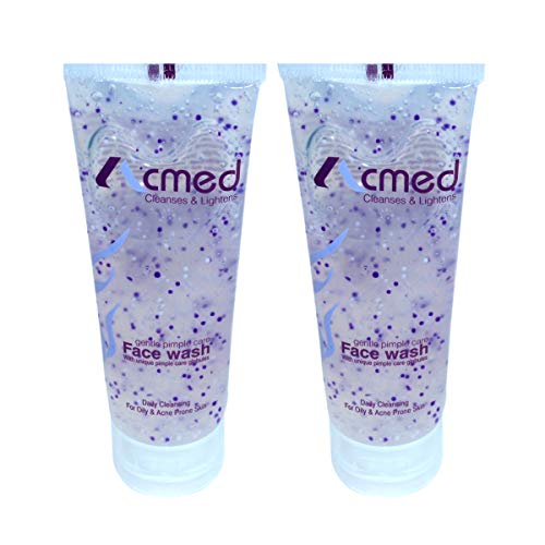 Acmed Pimple Care for Acne Prone Skin (Pack of 2) Face Wash  (140 ml)-Buy Only From Seller E Mega Mart India