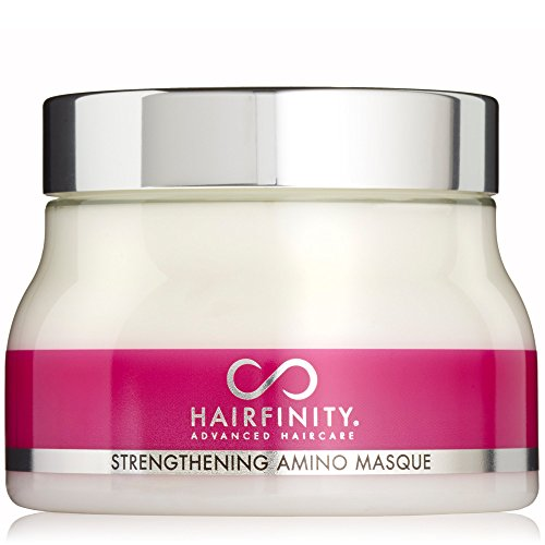 Hairfinity Strengthening Amino Masque - Deeper Infusion of Moisture With Bioactive Hydrolyzed Collagen, MSM & Horsetail For Stronger, Smoother & More Elastic Hair by Hairfinity