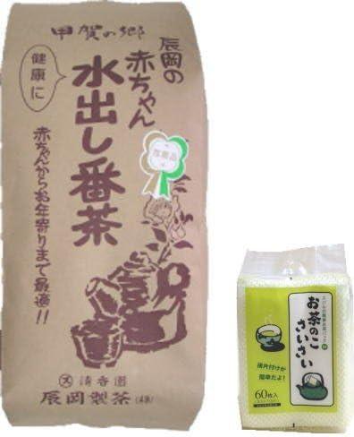 辰岡製茶 赤ちゃん水出し番茶(茶葉) 400gx 7袋+お茶パック1袋セット