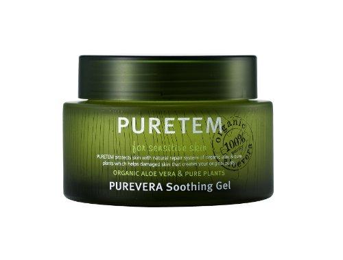 Puretem Purevera Facial Skin Soothing Gel (100% Organic Aloe Vera)