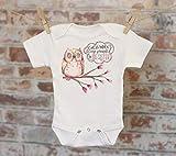 Guess Whoo Is Going To Be A Big Sister Owl Onesie®/T-Shirt, Woodland Style Onesie, Cute Onesie, Boho Baby Onesie, Girl Onesie
