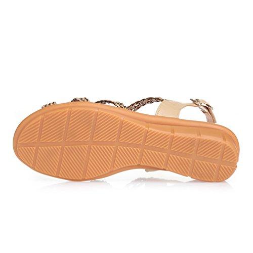 La Nago - Sandalias mujer marrón