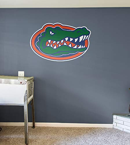 Fathead NCAA Florida Gators Florida Gators: Logo - Giant Officially Licensed Removable Wall -