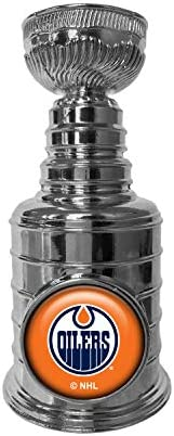 NHL Edmonton Oilers Stanley Cup Champions 3.25-inch Trophy Replica
