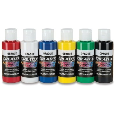 - Createx Colors Paint for Airbrush, 8 oz, Transparent Forest Green