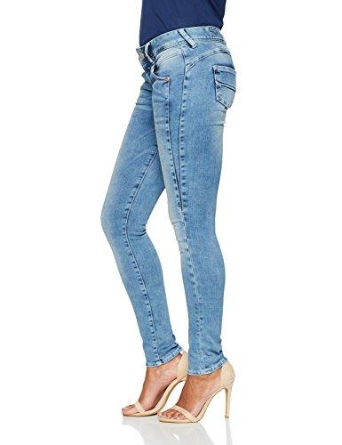 Blu Jeans Gila 724 River Donna Herrlicher Slim pearl RFIzPwRWxq