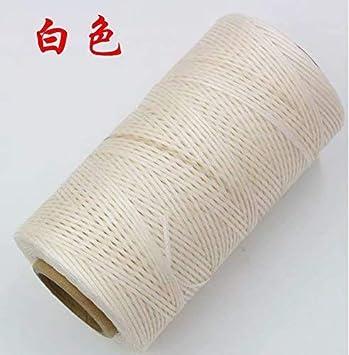 Hotgod 6/pcs 50/metre 1/mm cir/é Cuir cir/é Fil Cordon Craft pour DIY Outil Coutures