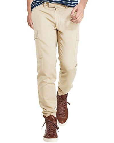 Ralph Lauren Classic Linen Pant (Polo Ralph Lauren Mens Big & Tall Classic Fit Khaki Pants Beige 44/30)