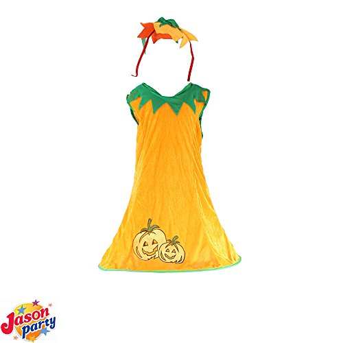 Adorable Girls Pottery Barn Kids Pumpkin Tutu Dress Halloween Costume Cosplay -