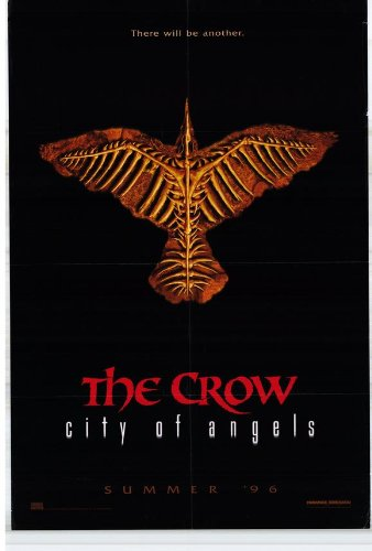 The Crow 2: City of Angels Movie Poster (27 x 40 Inches - 69cm x 102cm) (1996) -(Vincent Perez)(Mia Kirshner)(Iggy Pop)(Richard Brooks)(Ian Dury)(Thuy Trang)