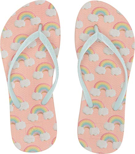 (Reef Kids Baby Girl's Escape Lux Fun (Toddler/Little Kid/Big Kid) Rainbow 9-10 M US Toddler)