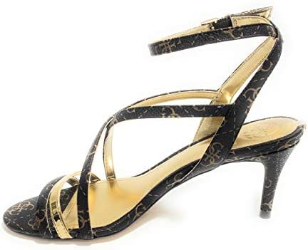 SANDALO GUESS MOD. NYLAH 3 TC 65 IN ECOPELLE BROWN DONNA DS19GU50