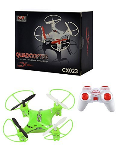 Ionic 6-Axis Gyroscope 2.4 GHz Remote Control RC Quadcopter (Green) by Ionic