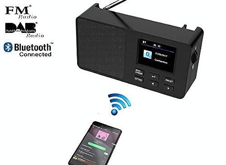 // FM digital Go Digital Radio DAB // DAB Yaakin K2 portable portable pocket rechargeable battery handheld radio // headphones included