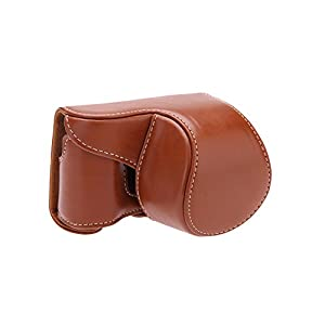 Andoer Camera Bag Case Cover Pouch with Strap for Sony A5000 A5100 NEX 3N by Andoer
