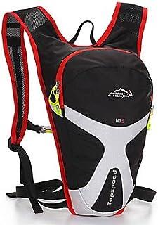 zxc/course à pied Cyclisme Sac à dos 5L extérieur Polyester Imperméable Respirant Bikebag d'équitation unisexe sac à dos de randonnée Red SDSDV