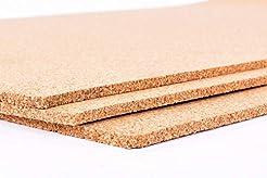 Fine Grain Cork Sheets 12in X 36in X 1/8...