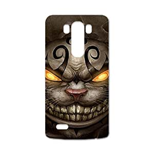 Custom Art Alice in Wonderland–Cheshire Cat Special DIY Case for LG G3