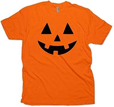 Daft Threads Classics Jack O' Lantern Pumpkin Face Halloween T-Shirt Costume Men's Unisex
