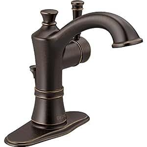 Amazon.com: Delta Valdosta Venetian Bronze 1-Handle 4-in