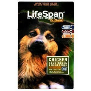 LifeSpan Premium Chicken Dry Dog Food, 8 Pound - 3 per case.